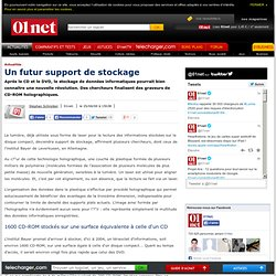 Un futur support de stockage