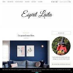Un grand mur bleu - Esprit Laïta