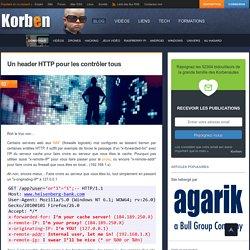 Un header HTTP pour les contrôler tous