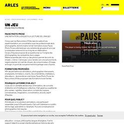 Un jeu - Un jeu - Les Rencontres d'Arles