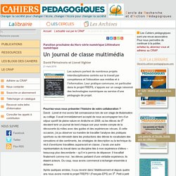 Un journal de classe multimédia