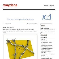 Un-Lean Email