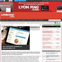 Un Lyonnais invente la démocratie 2.0