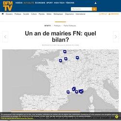 Un an de mairies FN: quel résultat?
