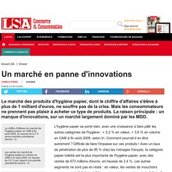Un marché en panne d'innovations