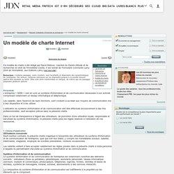 Un modèle de charte Internet