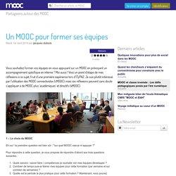 Un MOOC pour former ses équipes - Mooc