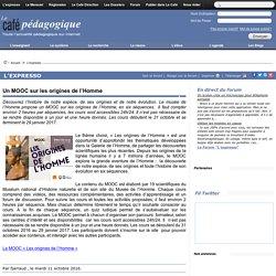 Un MOOC sur les origines de l'Homme