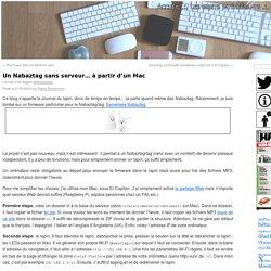 Un Nabaztag sans serveur… à partir d'un Mac