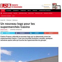 Un nouveau logo pour les supermarchés Casino
