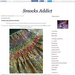 un pas à pas pour les smocks - Smocks Addict