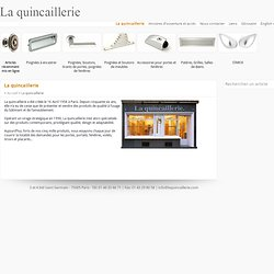 Fournisseur quincaillerie pearltrees - Quincaillerie paris 16 ...