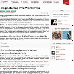 Wordpress Photoblog