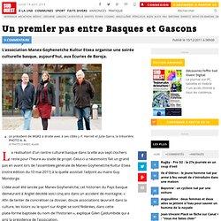 Un premier pas entre Basques et Gascons