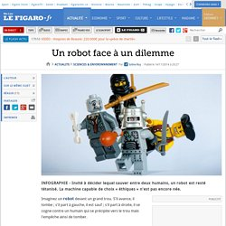 Un robot face à un dilemme