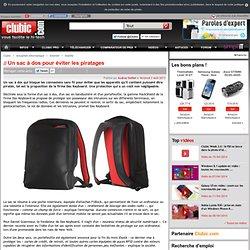 Un sac à dos pour éviter les piratages