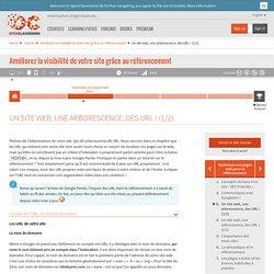 Un site web, une arborescence, des URL ! (1/2)