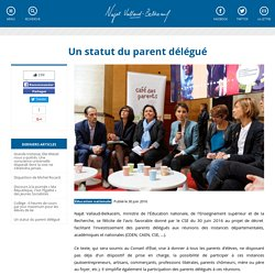Un statut du parent délégué