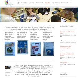 Un travail numérique - EC Bourgogne