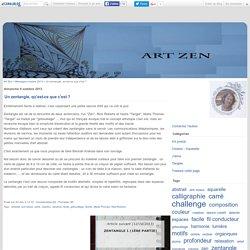 Un zentangle, qu'est-ce que c'est ? - Art Zen