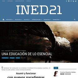 UNA EDUCACIÓN DE LO ESENCIAL