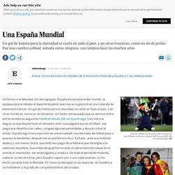 Una España Mundial