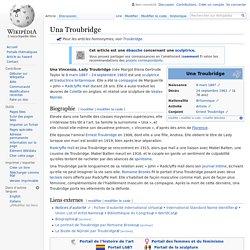 Una Troubridge