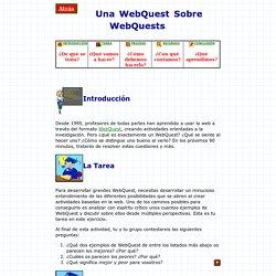 Una WebQuest sobre WebQuests