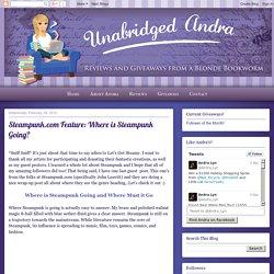 Unabridged Andra: February 2012