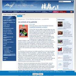 UNAF-Les enfants et la publicité