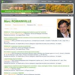 Marc ROMAINVILLE