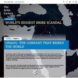Unaoil Bribery Scandal: The company that bribed the world