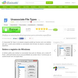 Unassociate File Types download
