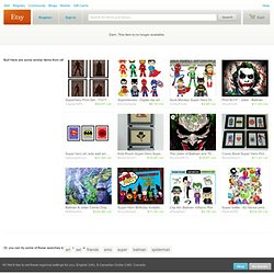 Super Emo Friends Super Set by SuperEmoFriends on Etsy