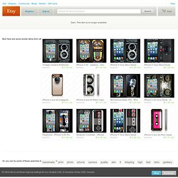 iPhone 4 skin Ultra fex camera High photo quality by Vinylstudio