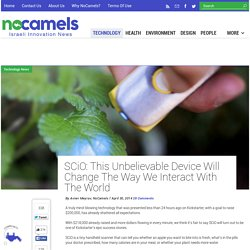 SCiO: This Unbelievable Device Will Change The Way We Interact With The World