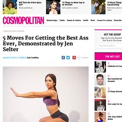 Jen Selter Butt Workout - 5 Exercises for Getting Jen Selter's Unbelievably Famous Butt