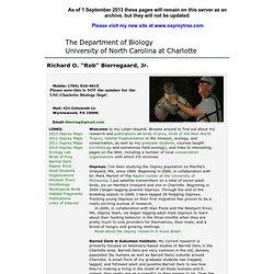 UNC Charlotte Biology