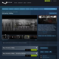 Uncanny Valley on Steam