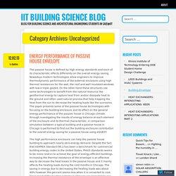 IIT Building Science Blog