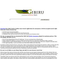 Gibiru Search Engine Proxy & Alternative Search Engine