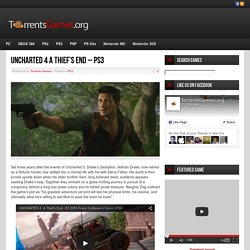 Uncharted 4 A Thief's End - PS3