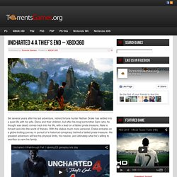Uncharted 4 A Thief's End - XBOX360