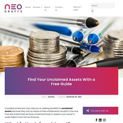 Unclaimed Assets - Find Unclaimed Assets With Free Guide?
