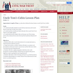 Uncle Tom's Cabin Lesson Plan