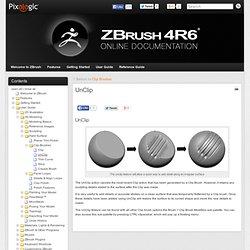 UnClip » ZBrush Docs