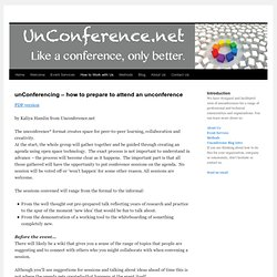 unConferencing – how to prepare to attend an unconference