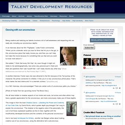 Talent Development Resources : creativity and personal growth