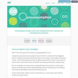 Unconsumption – Page 1