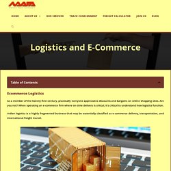Unconventional/Unexpected Logistic And E-commerce Growth 2020- Navata